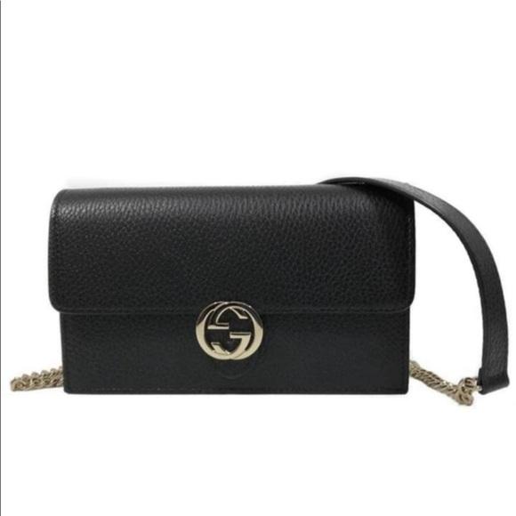 1edcf5bd78d Gucci Handbags - Gucci Icon Wallet on Chain